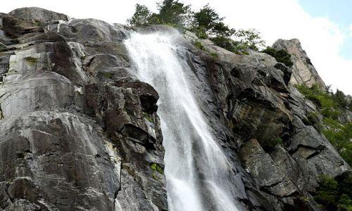 Zdjecie NORWEGIA / Południowo - zachodnia Norwegia  / Lysefjord / Zasilanie fjordu
