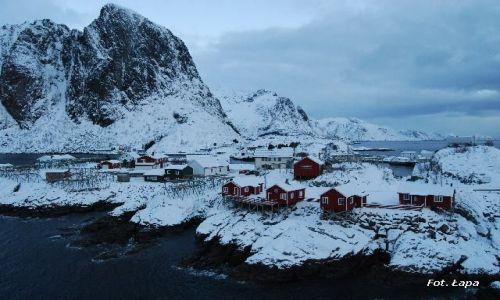 Zdjecie NORWEGIA / Lofoty / Lofoty / Lofoty w zimie