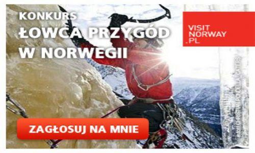 Zdjecie NORWEGIA / Norwegia / Norwegia / Łowca przygód w Norwegii