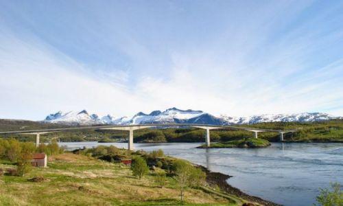 Zdjecie NORWEGIA / Nordland  / Saltstraumen  /  33 kilometry od centrum