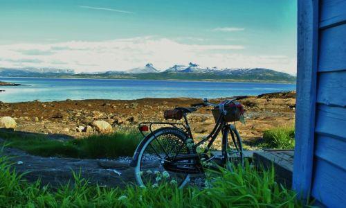 NORWEGIA / Nordland  / Bodø / rowerem:)
