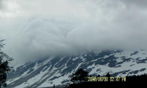 Zdjecie NORWEGIA / - / droga letnia / norweskie góry