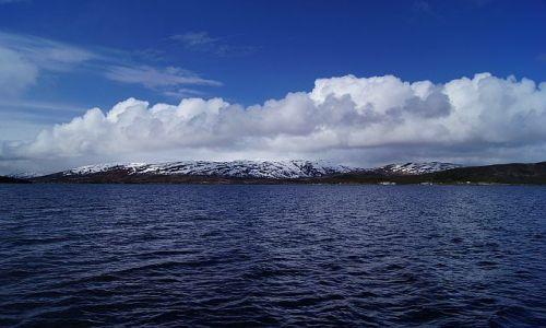 Zdjecie NORWEGIA / Nord-Norge / Tromso-Torsvag / Błękit Nieba