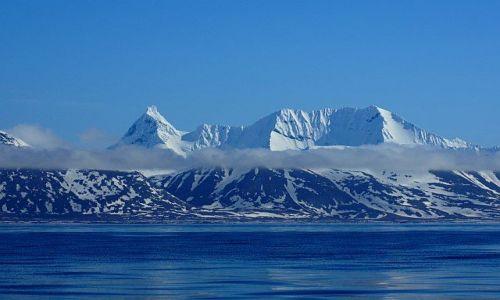 Zdjecie NORWEGIA / Svalbard / Sorkappland / Oczarowanie