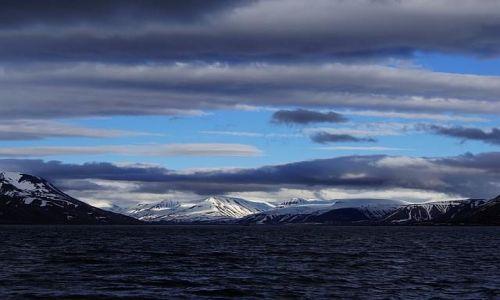 Zdjecie NORWEGIA / Svalbard/ Spitsbergen / Longyearbyen / Tańczące światło