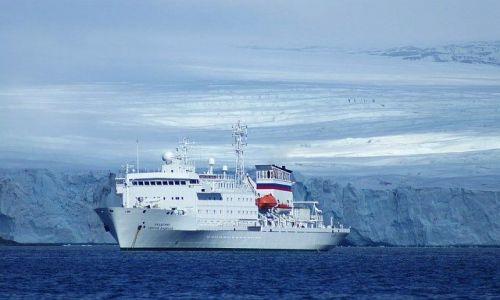 NORWEGIA / Spitsbergen / Hornsund / Zmrożona impresja