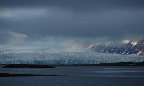 Zdjecie NORWEGIA / Spitsbergen / Ny ALesund / Lodowiec