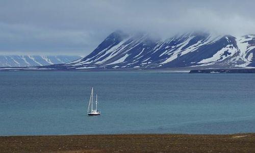 Zdjecie NORWEGIA / Spitsbergen / Calypsobyen / Przystań