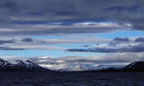 Zdjęcie NORWEGIA / Spitsbergen / Longyearbyen / Widnokrąg