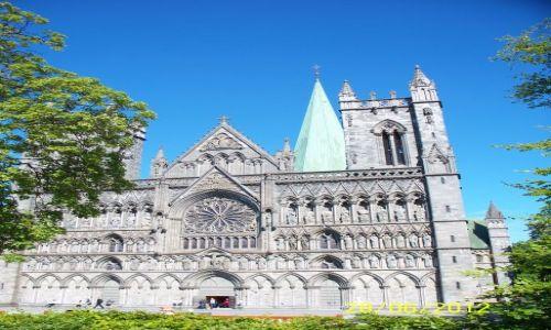 NORWEGIA / - / Trondheim / Katedra Nidaros