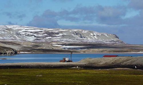 NORWEGIA / Spitsbergen / Ny Alesund / Zatoczka