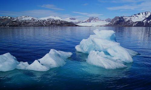 Zdjecie NORWEGIA / Spitsbergen / Ny Alesund / Góry o niejednym imieniu