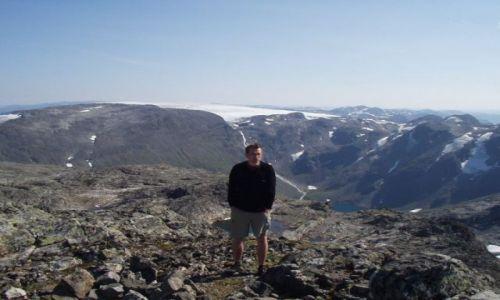 Zdjecie NORWEGIA / Sogn og Fjordane / góry / Rambera