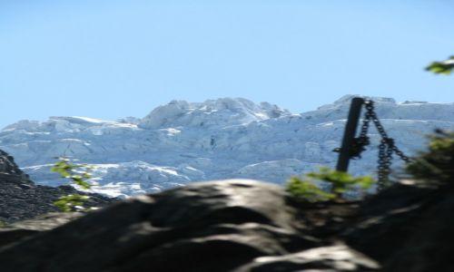 Zdjęcie NORWEGIA / Odda / Odda / Lodowiec latem