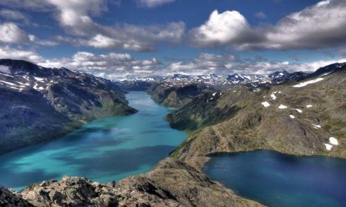 Zdjecie NORWEGIA / Jotunheimen Nasjonalpark / Bessegen / Chmury