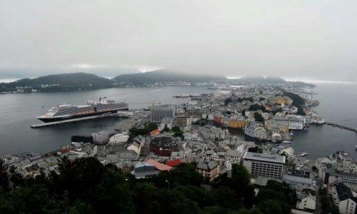 Zdjęcie NORWEGIA / More og Romsdal / Alesund / Panorama