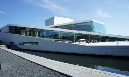 Zdjecie NORWEGIA / Oslo / Oslo / Na styku morza z lądem