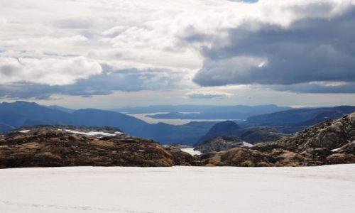 Zdjęcie NORWEGIA / Hardanger / Folgefonna / Lato w Norwegii