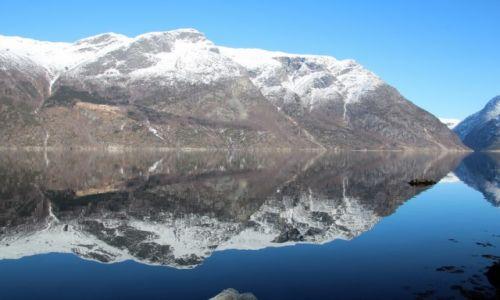 Zdjecie NORWEGIA / Hordaland / Hardangerfjord / Hardangerfjord