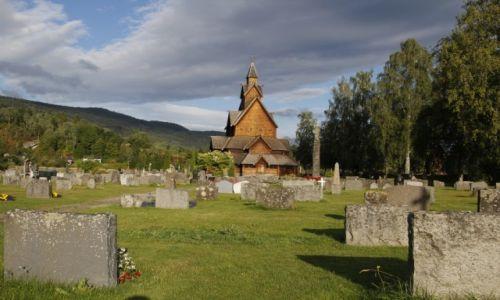 Zdjęcie NORWEGIA / Telemark / Heddal / Heddal Stavkirke