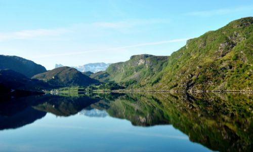 Zdjecie NORWEGIA / Sogn og fjordane / okolice Seile / widoczek