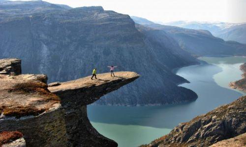 Zdjęcie NORWEGIA / Hordaland / Tyssedal / Konkurs-