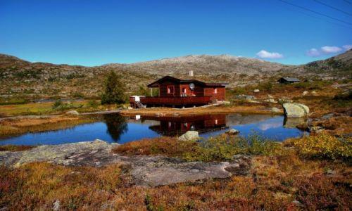 Zdjecie NORWEGIA / Hordaland / Tyssedal / TROLLTUNGA