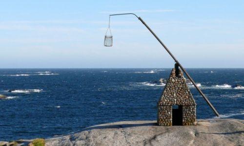 Zdjęcie NORWEGIA / Vestfold / Verdens Ende / Verdens Ende - stara latarnia morska