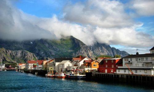 Zdjęcie NORWEGIA / Svolvær / Svolvær / LOFOTY