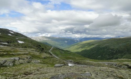 NORWEGIA / Norwegia / Norwegia / Na norweskim szlaku..