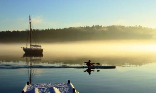 Zdjecie NORWEGIA / Oslo / Oslo Fiord / We mgle