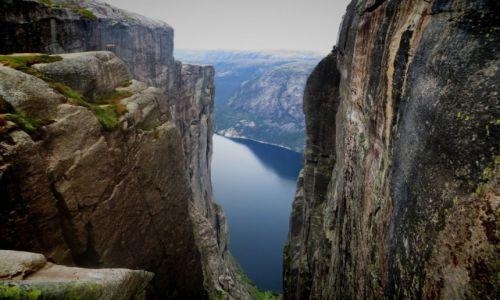 Zdjecie NORWEGIA / Lysefjord / Lysefjord / KJERAG