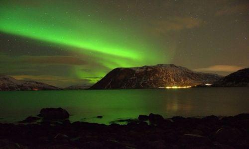 Zdjecie NORWEGIA / Tromso / Tromso / Zorza polarna