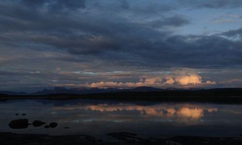 Zdjecie NORWEGIA / Norwegia / Norwegia / Nocą ok.23 00