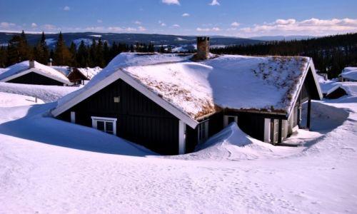 NORWEGIA / Hedmark / Trysil / zima
