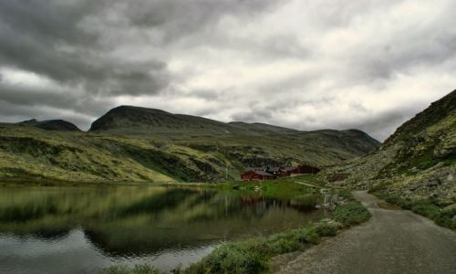Zdjecie NORWEGIA / Oppland, Hedmark / Park Narodowy Rondane / Rondvassbu