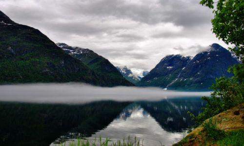 Zdjecie NORWEGIA / Sogn og Fjordane / Stryn / Relax