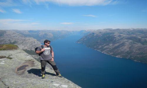 Zdjecie NORWEGIA / Norwegia / Preikestolen / Preikestolen
