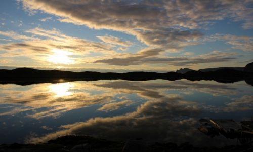 NORWEGIA / Finnmark / Gjesvaer / midnight sun