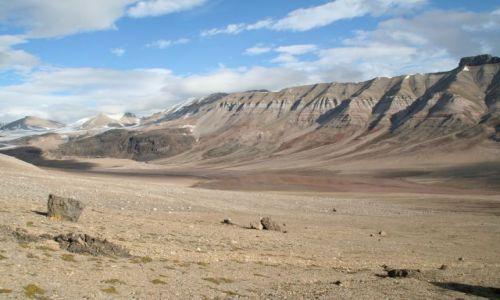 NORWEGIA / Svalbard / Dolina Ebby / Gdzieś w dolinie Ebby
