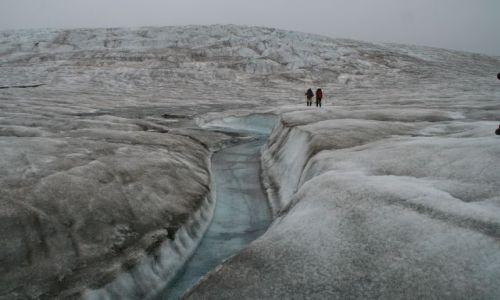 NORWEGIA / Svalbard / gdzies w okolicach g�r atomowych / Gdzies na lodowcu