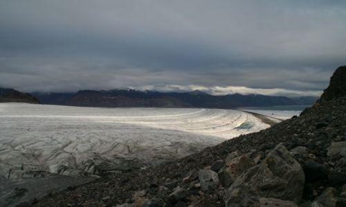 Zdjęcie NORWEGIA / Svalbard / Widok na Viedefjord..... / Przedsmak Bieguna