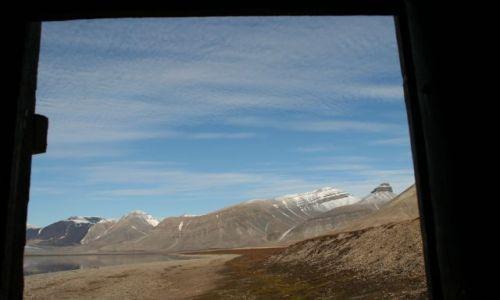 Zdjecie NORWEGIA / Svalbard / w naszej toalecie drzwi nigdy nie zamykalem / z toalety
