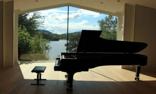 Zdjecie NORWEGIA / Troldhaugen /  Muzeum Edwarda Griega / Fortepian