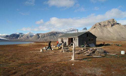 Zdjecie NORWEGIA / Svalbard / Petunia Bukta / Hotel Kategorii..... Niesamowitej