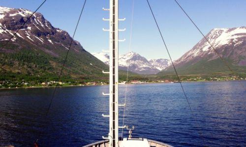 Zdjecie NORWEGIA / Troms / Okolice Tromso / Fiordy