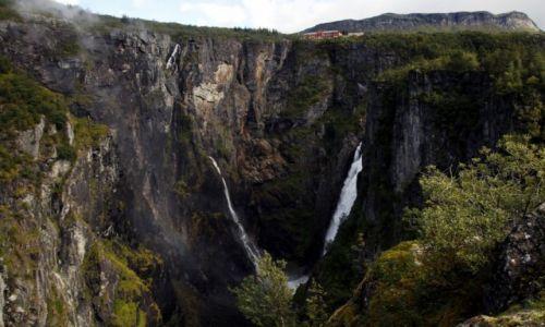 Zdjecie NORWEGIA / Hordaland / Eidfjord kommune / Wodospad Vøringsfossen