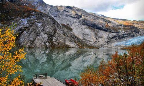 Zdjecie NORWEGIA / Sogn og Fjordane / Jostedal / NORWAY