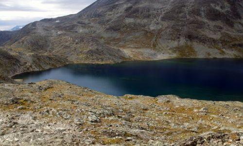 Zdjecie NORWEGIA / Oppland / Besseggen / Jezioro Bessvatnet