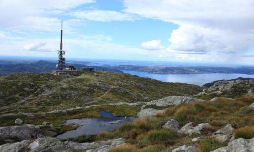 Zdjecie NORWEGIA / Bergen / Ulriken / Wzgórze widokowe